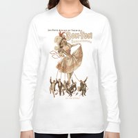 burlesque Long Sleeve T-shirts featuring Bon-Ton Burlesque by taiche