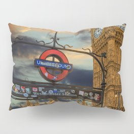 Big Ben London City Pillow Sham