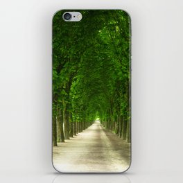 The gardens of the castle of Fontainebleau iPhone Skin