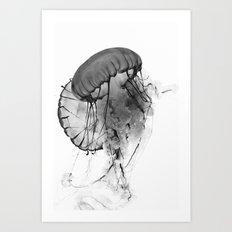 Dancing Jellies Art Print
