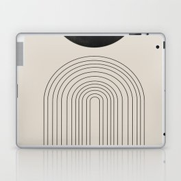 Arch, geometric modern art Laptop & iPad Skin