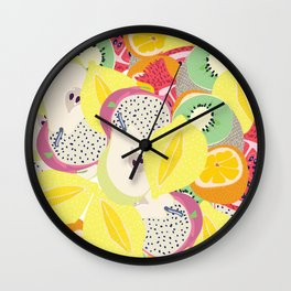 Sangria Wall Clock