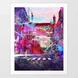 MASH 2 Art Print