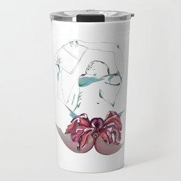 Vagina flower Travel Mug