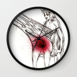 Wounded Wall Clock