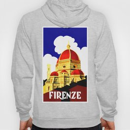Firenze - Florence Italy Travel Hoody