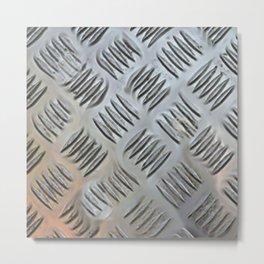 Metal Grating Metal Print