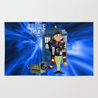 minions Area & Throw Rugs featuring Crime Lord by Mannart