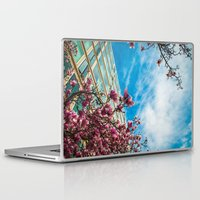 dc Laptop & iPad Skins featuring DC Blooms! by Ashley Hirst Photography