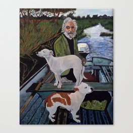 Goodfella Dogs Canvas Print