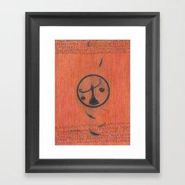 Candor. Framed Art Print