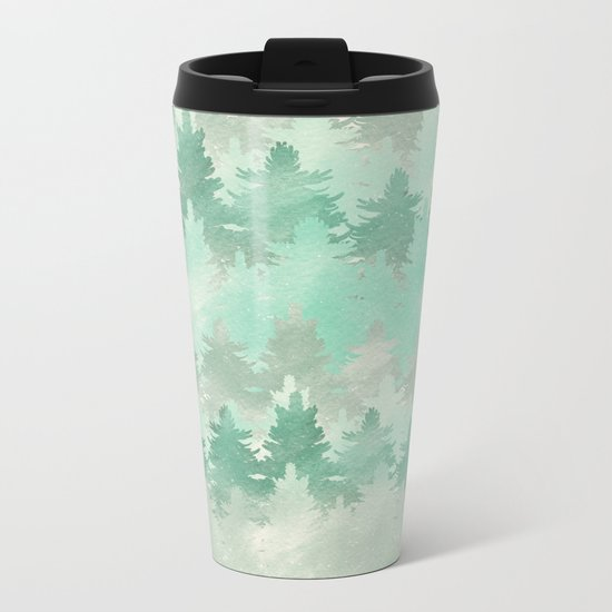 Meet Me In The Woods Metal Travel Mug