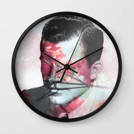 Flowers Boy Wall Clock