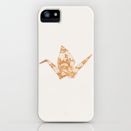 Floral origami iPhone Case