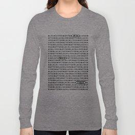 Black Lives Matter – Art – 04 Long Sleeve T-shirt