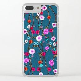 Spring Flowers Decò Clear iPhone Case