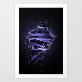 Disengage Art Print