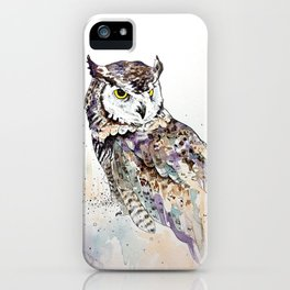 Vancouver Owl iPhone Case
