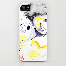 Flying Tattoo  iPhone Case