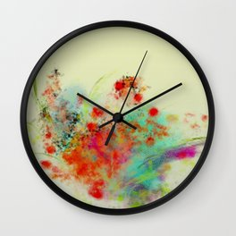 bouquet 3  Wall Clock