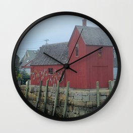 Motif Number One- Rockport MA Wall Clock