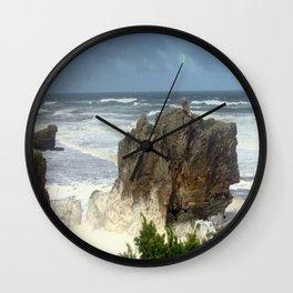 Angry Ocean Wall Clock