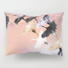 Japanese cranes Pillow Sham