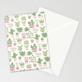 Lovely plants Stationery Cards