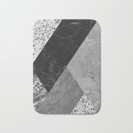 Marble and Granite Abstract Bath Mat