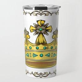 Royal Crown Travel Mug