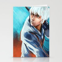 jack frost Stationery Cards featuring Jack Frost by Maine