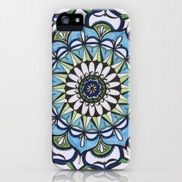 Mediterranean Mandala iPhone Case