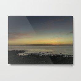 Kimmeridge Bay Sunset #2 Metal Print