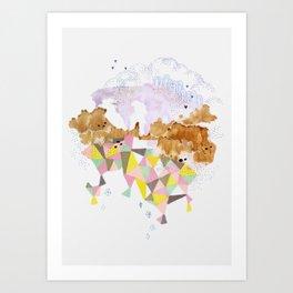 total Art Print