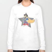 super mario Long Sleeve T-shirts featuring Super Mario by tshirtsz