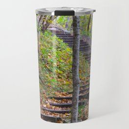 Stairway into the Woods Travel Mug
