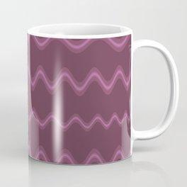 Purple Waves Coffee Mug