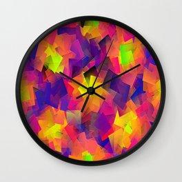 Partyin' Down!!! Wall Clock