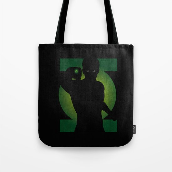 SuperHeroes Shadows : Green Lantern Tote Bag