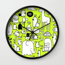 All the Beasts, Imagined and Real Wall Clock