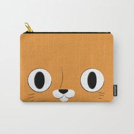 Le Chat (Orange) Carry-All Pouch