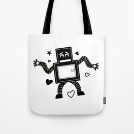 Rant Robot Tote Bag