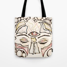 Higher Vibrations Tote Bag
