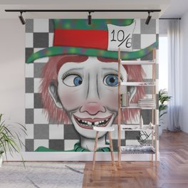 Hysterical Hatter Wall Mural