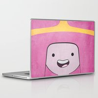 princess bubblegum Laptop & iPad Skins featuring Princess Bubblegum by Some_Designs
