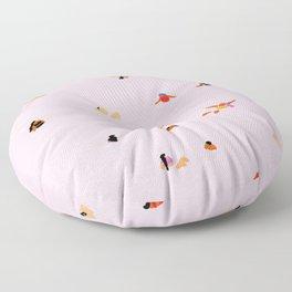 Pink! Floor Pillow