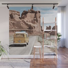 Highway Trip in the Desert Wall Mural