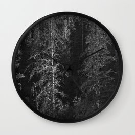 Forest - Rocky Mountain National Park Wall Clock