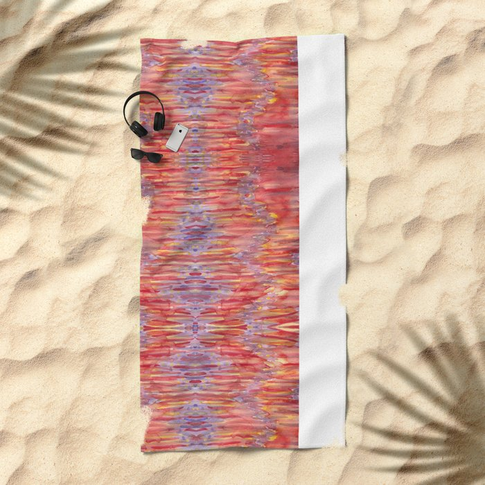 Desert Heat Beach Towel