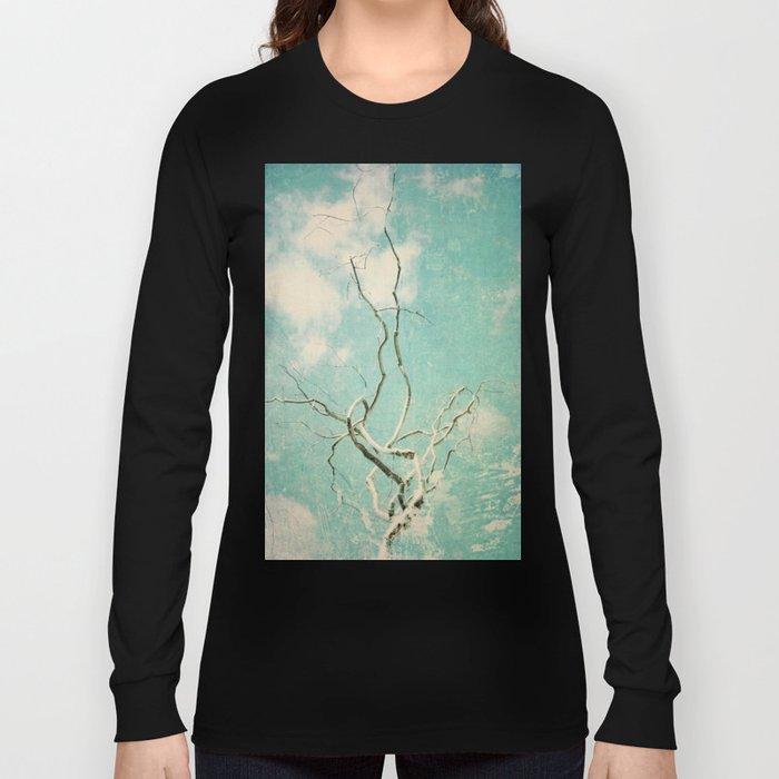 Silver Twist Long Sleeve T-shirt
